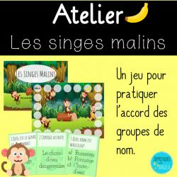 Atelier: Les singes malins- Accord du GN