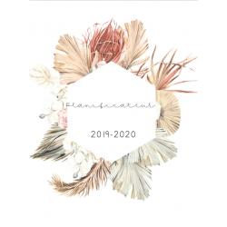 Planificateur 2019-2020 avec 2 récréations