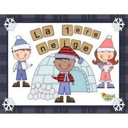 Hiver, La première neige (vêtements d'hiver)