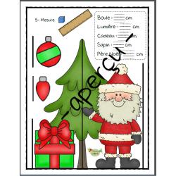 Numération et mesure, Noël (0 à 30)