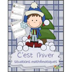 Hiver, situations mathématiques