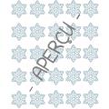 Hiver, Les flocons du bonhomme de neige