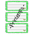Printemps, Enfants du printemps, Lis et écris