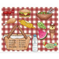 Alimentation, Pique-nique, Lecture