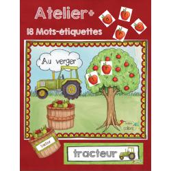 Pommes, Au verger, Lecteurs débutants