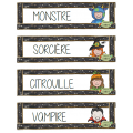 Halloween, Marmites de mots, Lecture et écriture
