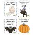 Bouge, Halloween, Cartes de mouvements