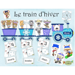 Hiver, Le train d'hiver, Additions