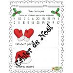 Noël, Cahier de Noël, 1ère année