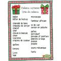 Noël, Cadeaux mystères, Je lis et j'écris