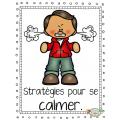 Stratégies pour se calmer, Affiches et cartes
