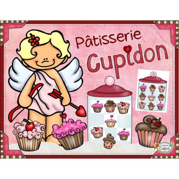 Saint-Valentin, Pâtisserie Cupidon