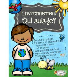 Environnement, Qui suis-je?
