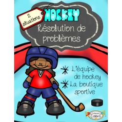 Hockey, Résolution de problèmes, 2 situations