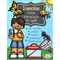 Insectes, Cahier thématique