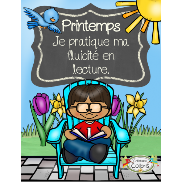 Printemps, Fluidité en lecture, 1er cycle