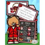 Été, Le kiosque de fraises, Atelier math.