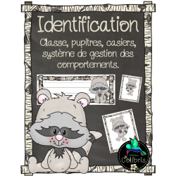 Identification, Ratons laveurs