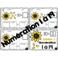 Automne, 5 ateliers de numération 1 à 19