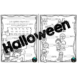 Halloween, Cahier thématique, 1er cycle