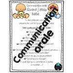 Communiquer oralement, Moi, bébé