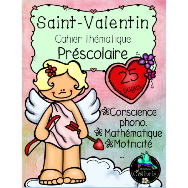 Saint-Valentin, Cahier thématique, Présco