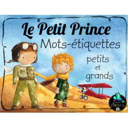 Le Petit Prince, Mots-étiquettes, Petits et grands