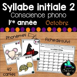 Syllabe initiale 2, Conscience phono