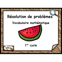 Cartes à tâches résolution de problèmes 1er cycle