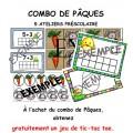 Combo de Pâques - 5 ateliers pour le préscolaire