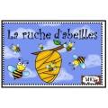 La ruche d'abeilles dénombrement préscolaire