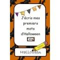 J'écris mes premiers mots d'Halloween