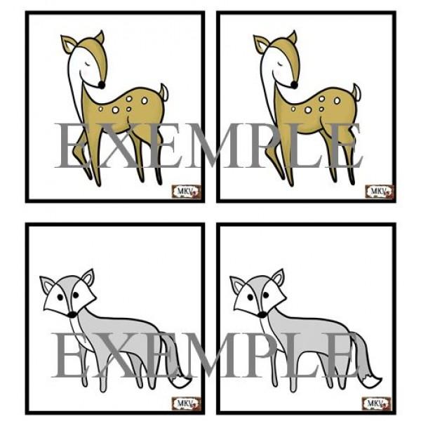 jeu de mémoire animaux polaires