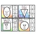Les petits lapins géométriques