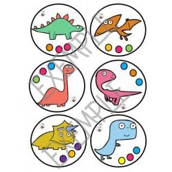 Suites logiques oeufs de dinosaures