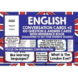 ESL EFL ENGLISH CONVERSATION CARDS #2