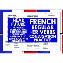 FSL FLE FRENCH -ER VERBS CONJUGATION PRACTICE #4