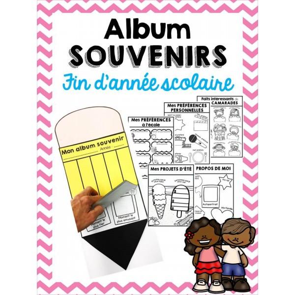 Album souvenirs - Fin d'année