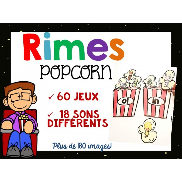 Rimes Popcorn - Conscience phonologique