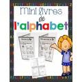 Mini-livres de l'alphabet