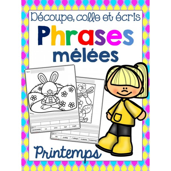 Phrases mêlées - PRINTEMPS