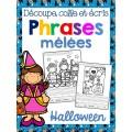 Phrases mêlées - HALLOWEEN