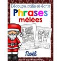 Phrases mêlées - NOËL