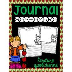 Situations d'écriture septembre - rentrée scolaire