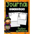 Journal d'octobre - Écriture quotidienne