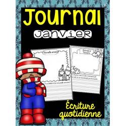 Journal de janvier - Écriture quotidienne