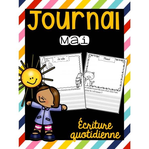 Journal de mai - Écriture quotidienne