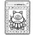 Tamponne les lettres - Alphabet