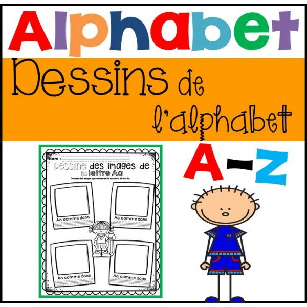 Dessin de l'alphabet