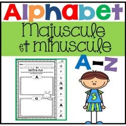 Majuscule et minuscule - Alphabet